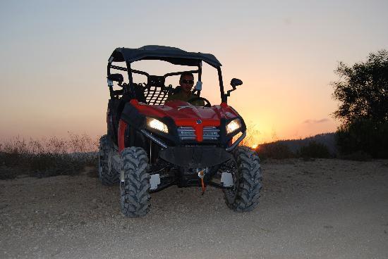 Jerusalem ATV Adventure Tours : The Jerusalem Sunset ATV Tour