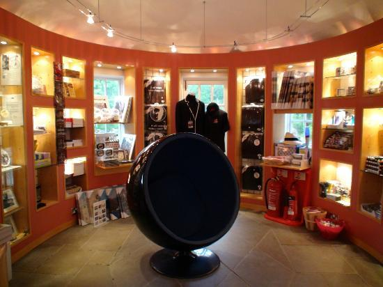 Portmeirion Village: Inside The Prisoner Shop
