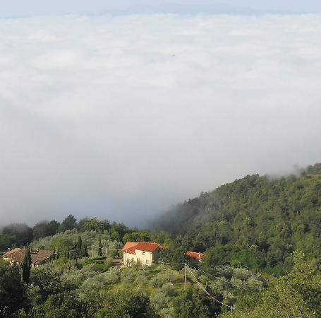 Podere Casarotta: Above the clouds!