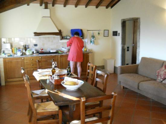 Podere Casarotta: kitchen/dining room Apt 5