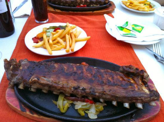 Hacienda Miranda: Rack of ribs