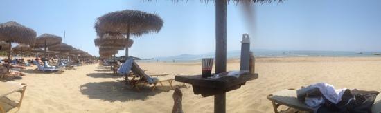 Grecotel Olympia Riviera Thalasso: the beach