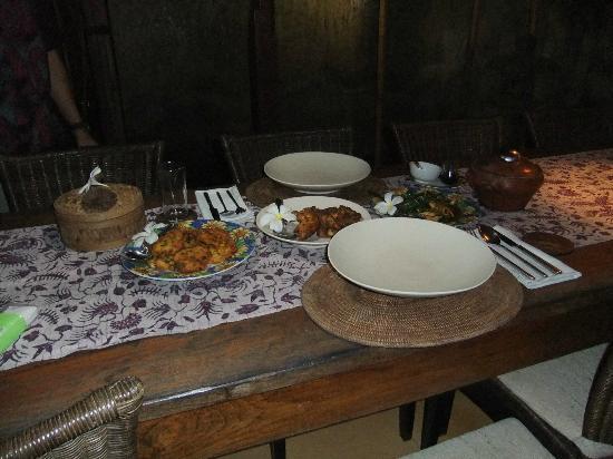 Toya Retreat: Dinner for two...