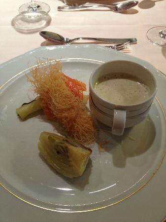 Hotel Wiesenhof: antipasto cena