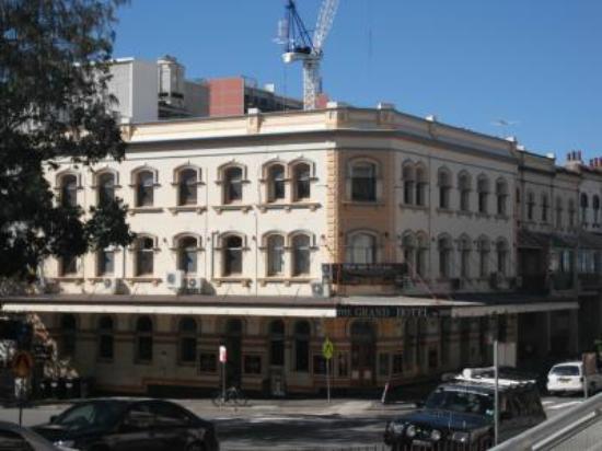 The Grand Hotel Newcastle: Pre Veranda Addition