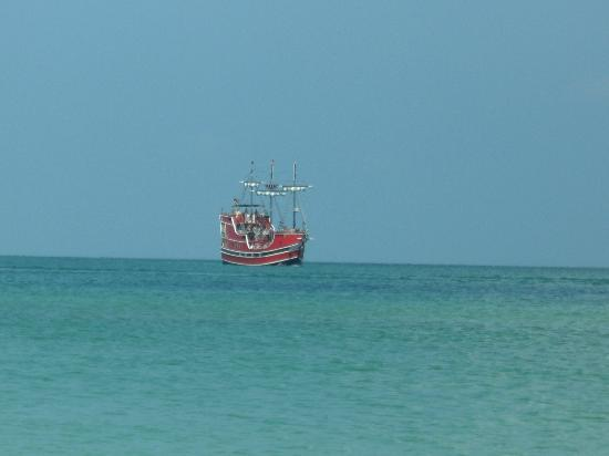 Clearwater Beach: pirate ship