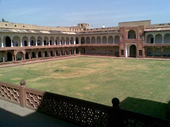 Agra Fort: Meena bazaar