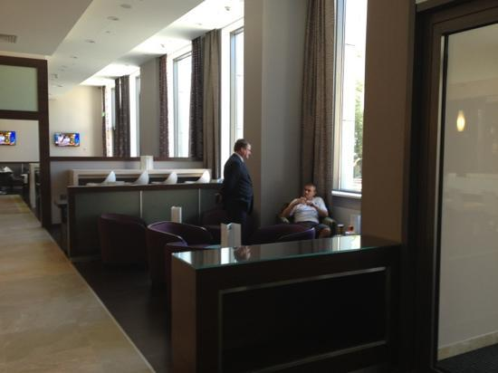 Holiday Inn Kiev: John the manager