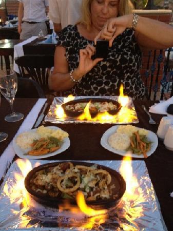 Rami's Terrace Restaurant: WOW!!!!!! MOUSSAKA ETC