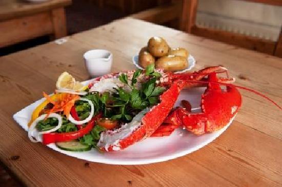 Morans Oyster Cottage: Lobster