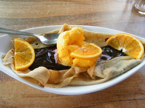 Sarl A l'Ancre  De Salut : Chocolate Orange Crepe