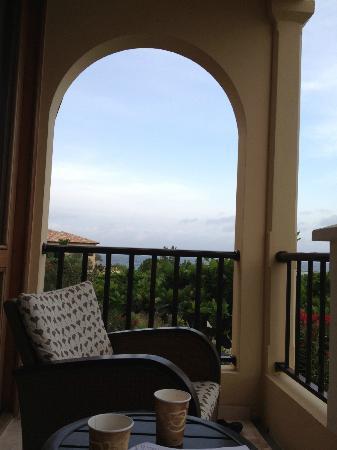 Santa Barbara Beach & Golf Resort, Curacao : View from our balcony