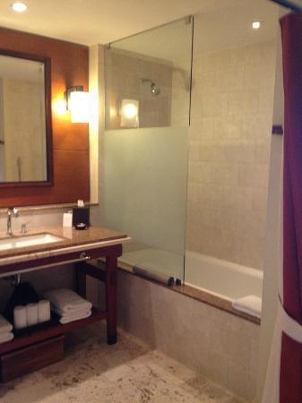 Santa Barbara Beach & Golf Resort, Curacao : Shower