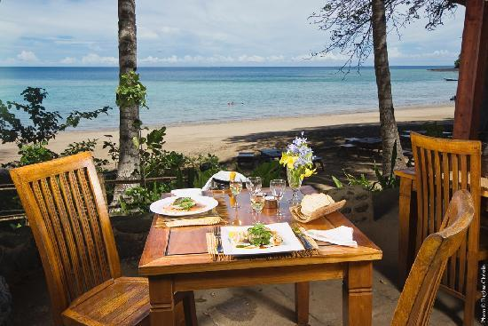 Chirongui, Mayotte: le restaurant