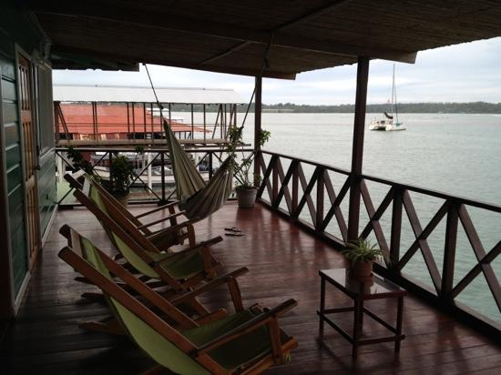 Bocas Inn: 2nd floor deck