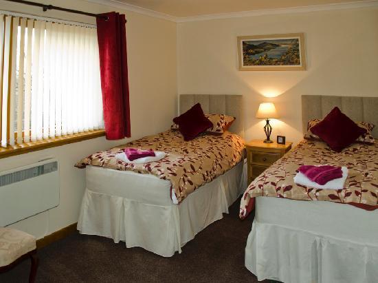 Stanton Villa B&B: Loch View Twin Room En-Suite