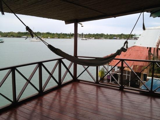 Bocas Inn: view