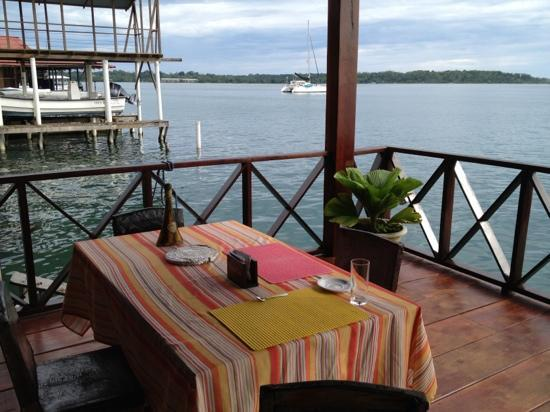 Bocas Inn: view from lower level
