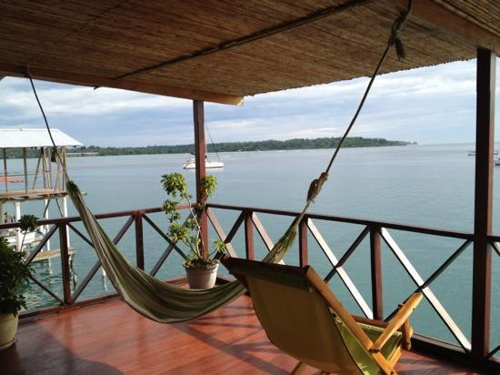 Bocas Inn : porch view