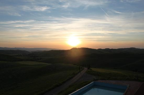 Agrihotel Il Palagetto: tramonto