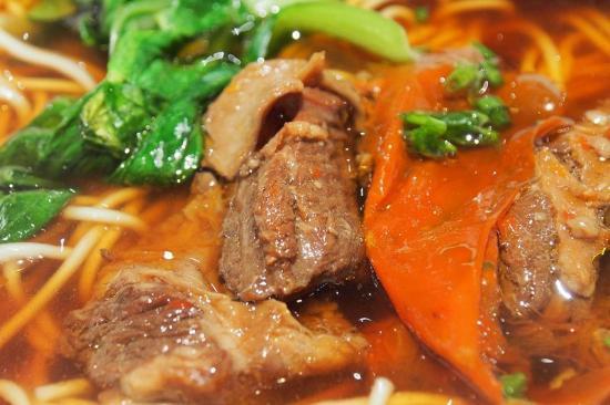 ShangHai Hen Niu DuChuang Beef Noodles (FuMin Road): Beef noodles