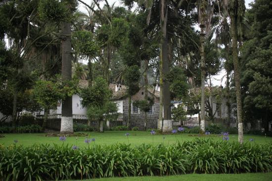 Hacienda Pinsaqui: Gardens