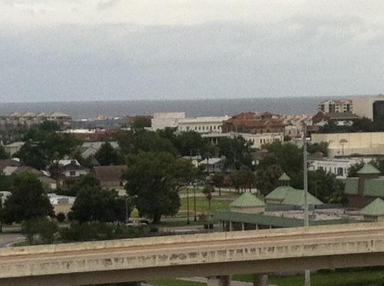 Pensacola Grand Hotel: view from the 9th floor