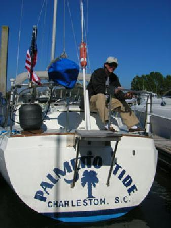 Captain Jack's Kiawah Sailing and Dolphin Watching: Palmetto Tide / Ready To Go Sailing