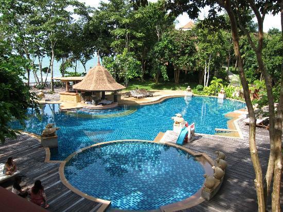 Crown Lanta Resort & Spa : View from Elegance Deluxe Room