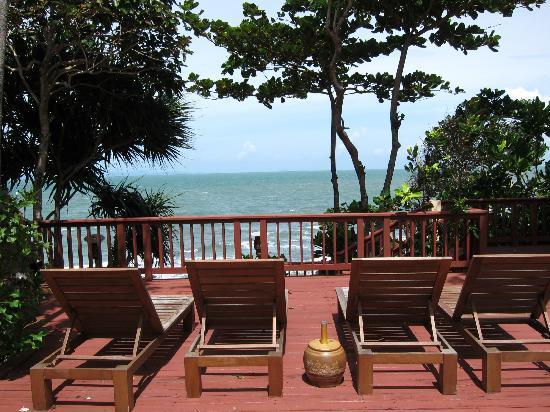 Crown Lanta Resort & Spa : View from hotel