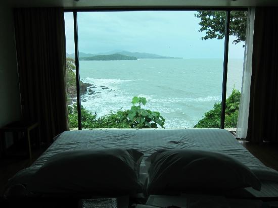 Crown Lanta Resort & Spa : View from Grand Villa bedroom