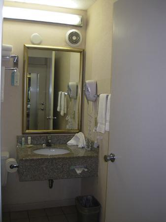 Quality Inn & Suites Chambersburg: Bathroom sink