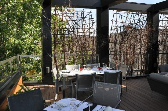 Restaurant Le Samuel: Notre table...