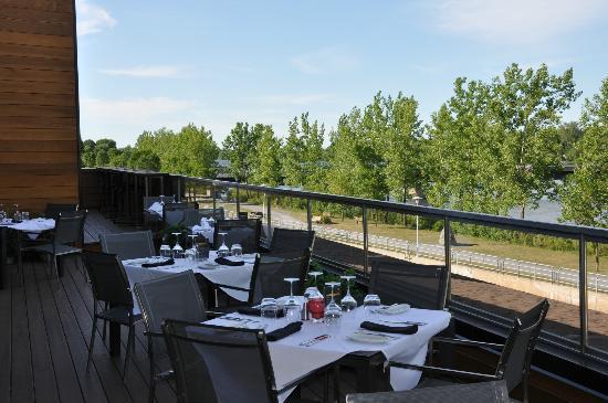 Restaurant Le Samuel : La superbe terrasse...