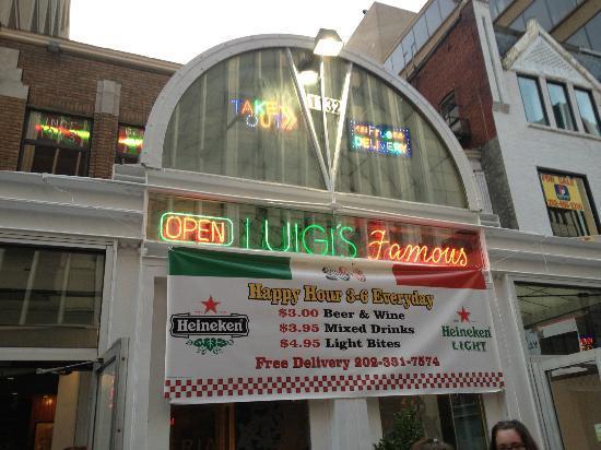 Luigi 39 S Restaurant Washington DC Dupont Circle Restaurant Reviews P