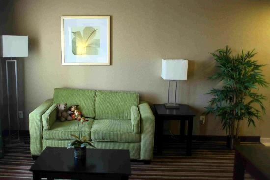 Hampton Inn & Suites - Merced: Sitting area