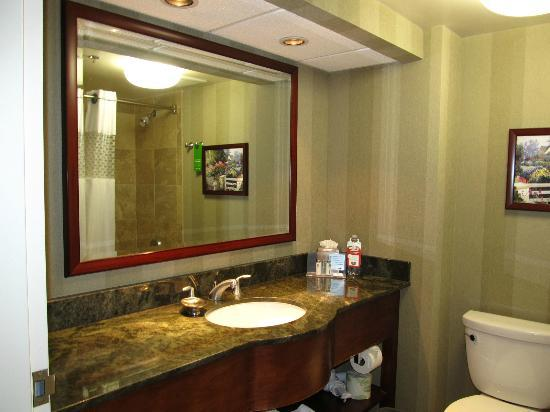 Hampton Inn San Diego - Kearny Mesa : Bathroom