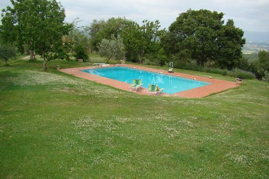 Agriturismo Bevignano : Zwembad op het complex