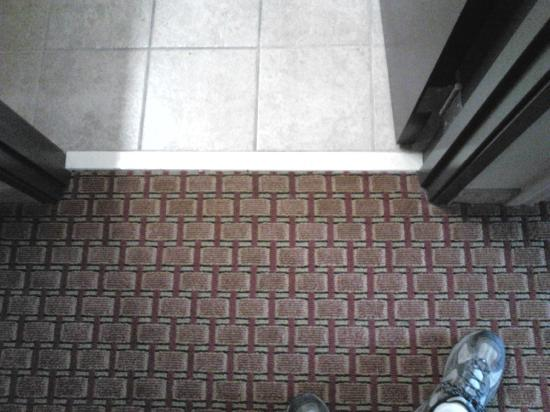 Comfort Inn & Suites Monahans: No Damage to Flooring