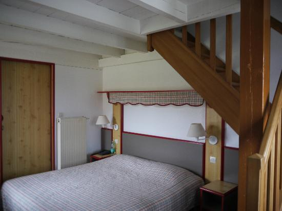 Hotel Les Loges : Une des chambres du Duplex