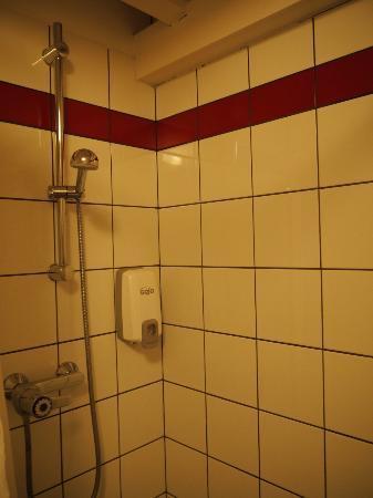 Hotel Les Loges : Le coin douche