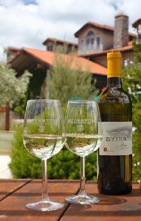 Byington Vineyard and Winery: At the Bocci Ball Court