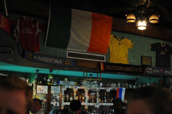 Druid's Irish Pub & Restaurant : bar