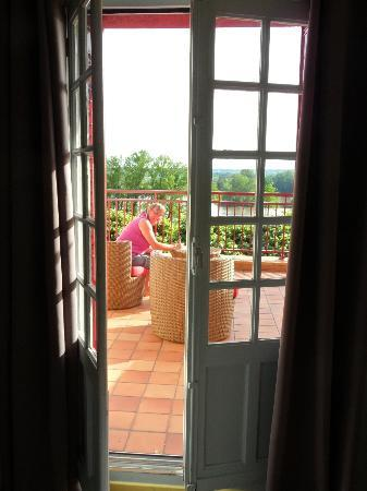 Le Coq Hardi : a room with a view!