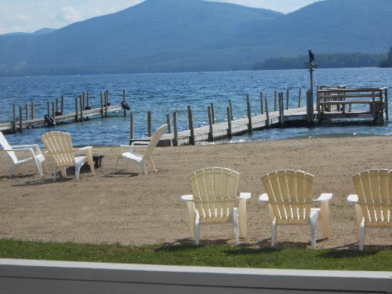 Golden Sands Resort on Lake George: Beach 6/23/12