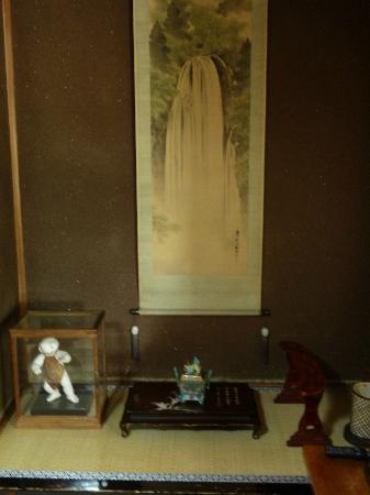 Sumiyoshi Ryokan: Alcove in room