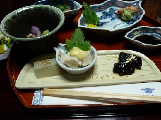 Sumiyoshi Ryokan: Dinner