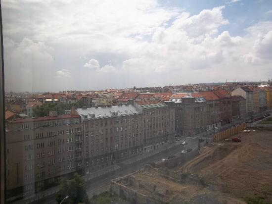 Parkhotel Praha: View from opur tenth floor room.