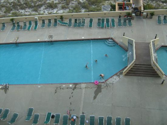 Phoenix VII: View of the pool from the 8th floor