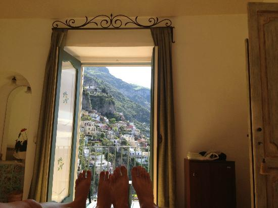 Casa Cosenza: View upon waking up in bed